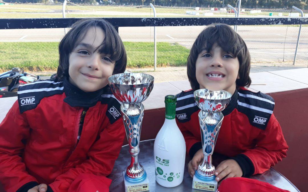 Secondo e terzo posto. I fratelli Tronza monopolizzano il podio dell'ultima prova di Campionato Regionale.
