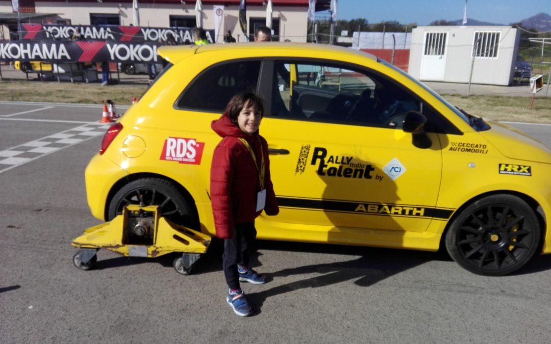 John Ray Tronza, un emozionante giro di prova al Rally Italia Talent 2018. Ci vediamo il prossimo anno.