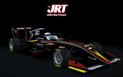 Nuova livrea Formula 3 del GD Reparto Corse per John Ray Tronza